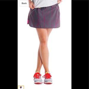 Lolë Athletic Speed Skirt, Storm Broken Stripe